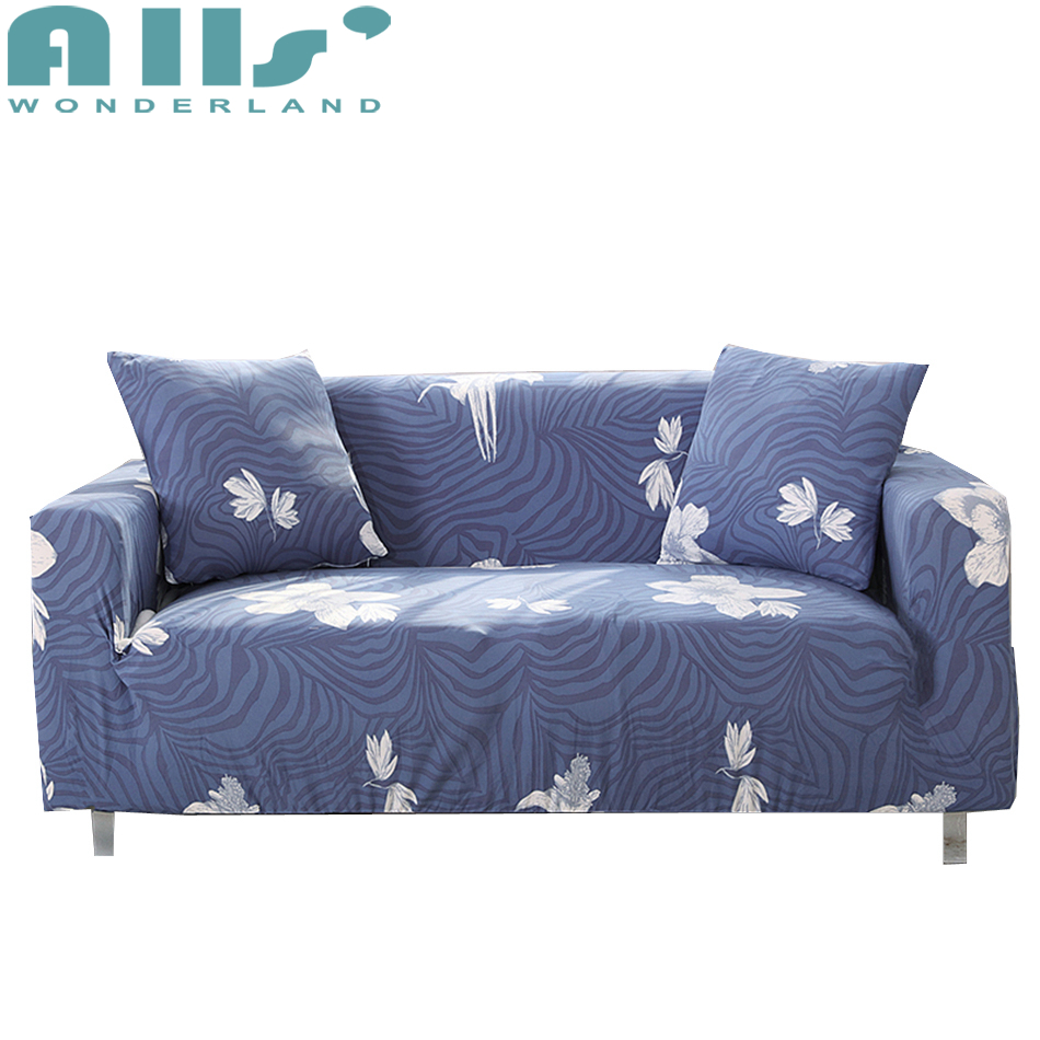 Sofa Cover Slipcover Modern Floral Sectional Sofa Cover