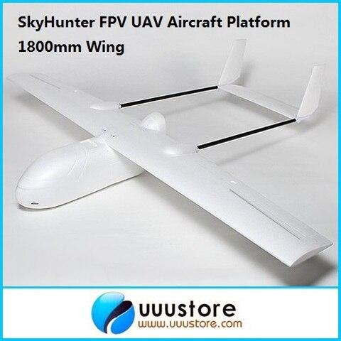 fpv aviao asas melhor rc uav fpv cacadora celeste 1 8 m epo modelo de