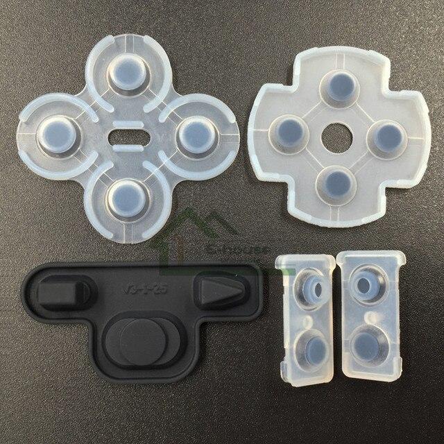 [100เซ็ต/ล็อต]สำหรับSony PS3ควบคุมD Ual S Hock 3ส่วนซ่อมซิลิโคนc onductiveแผ่นยางเปลี่ยน