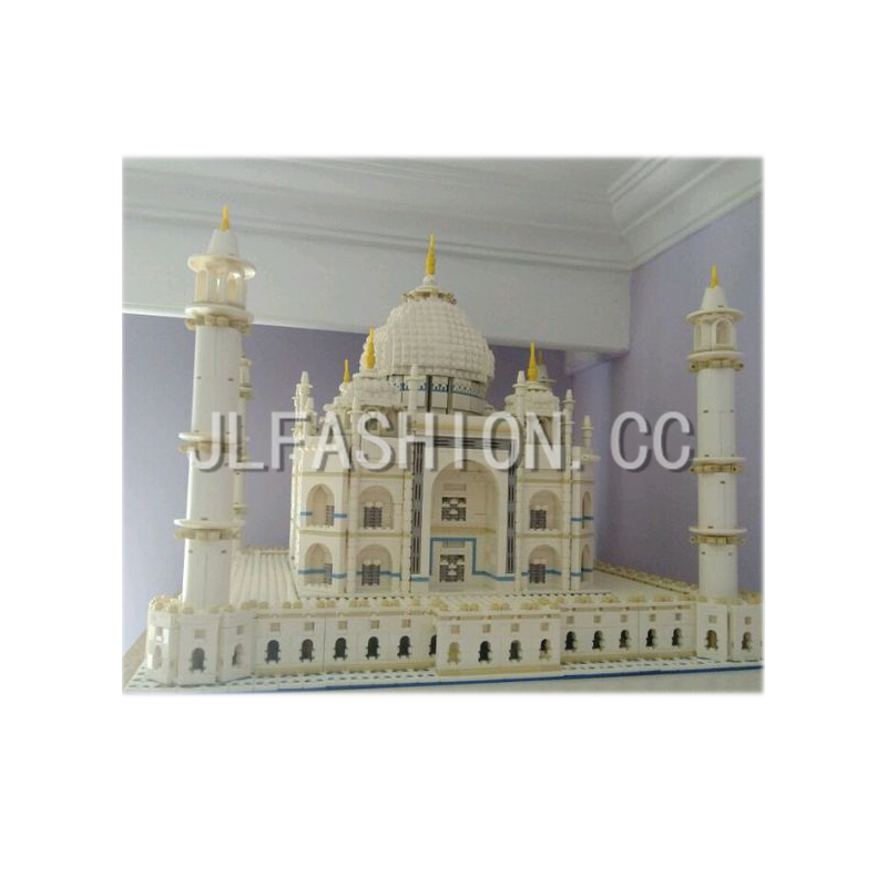 New Bricks17001 City Street Creator The Tai Mahal Model Building Kits Assembling  Compatible 10189 Toys lepin lepin17001 city street tai mahal model building blocks kids brick toys children christmas gift compatible 10189 educational toys