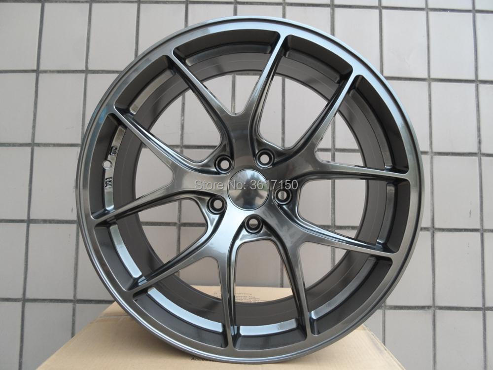 20x8.5J Wheel <font><b>Rims</b></font> PCD 5x120 Center Broe 72.56 ET35 With The Hub Caps image