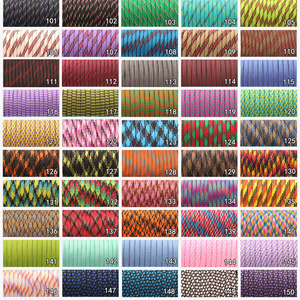 Image 4 - CAMPINGSKY 550 Paracord Parachute Cord Lanyard Tent Rope Mil Spec Type III 7 Strand 100FT Paracord For Hiking Camping 200 Colors