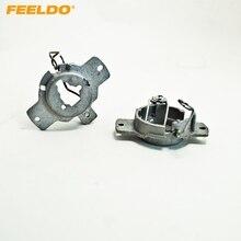 Feeldo 2 шт. автомобиля лампы гнездо адаптер для преобразования Mercedes (1993-1998) h1 ксеноновая лампа Установка #1338