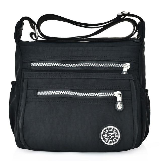 Nylon Women Messenger Bags Small Purse Shoulder Bag Female Crossbody Bags Handbags High Quality Bolsa Tote Beach 1