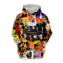 Xxxtentacion 3d printed Hoodies Sad Men Sweatshirts Rapper Hip Hop Hooded Pullover Sweatershirts Swag Hoody Revenge Kill Tops