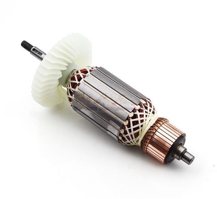220 V-230 V G180SE2 remplacement du moteur d'ancrage du Rotor d'armature pour les outils électriques de meuleuse d'angle Hitachi 180 G180 SE2