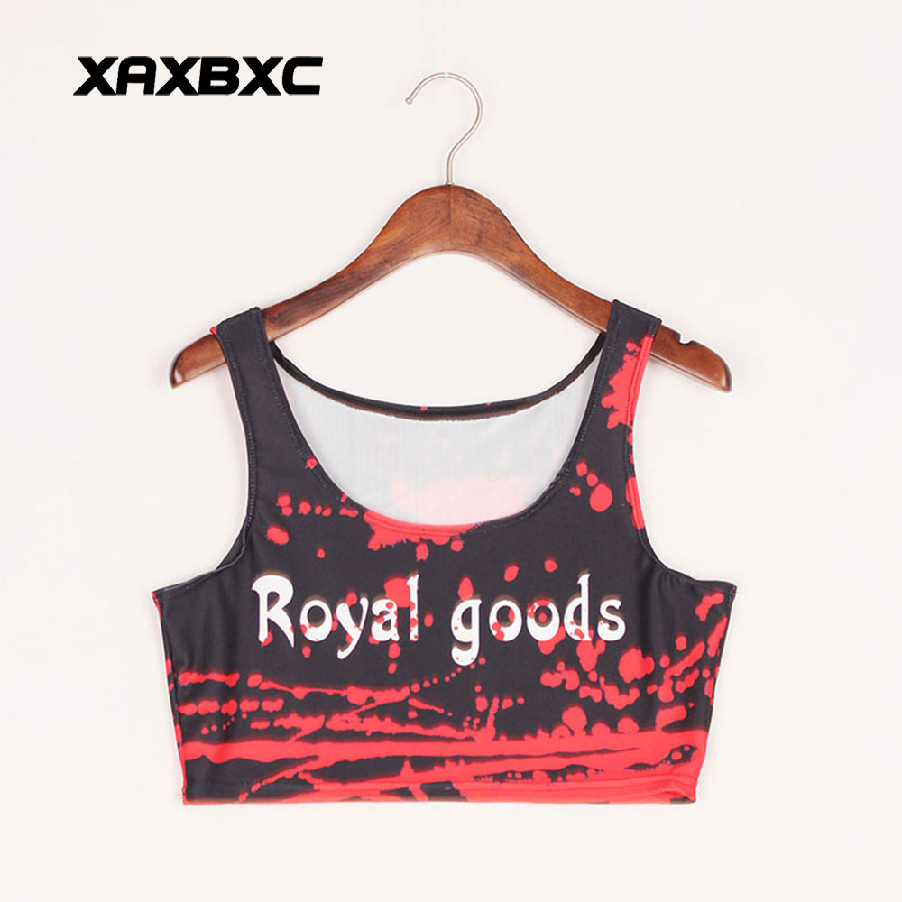 US $8 5 |XAXBXC 1002 Summer Sexy Girl Vest Tank Tops Jamaica Colour Weed  Leaf Prints Elastic Slim Sleeveless Fitness Women Crop Top -in Tank Tops  from