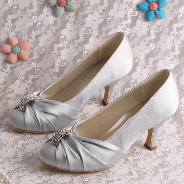 sale comfortable silver dress shoes bridesmaid medium