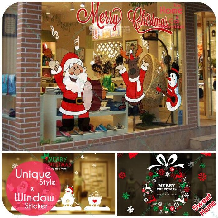 Buy 2016 amazing christmas window for Christmas home decor stores