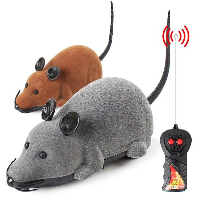 3 Colori Topo Gatto Giocattolo di Telecomando Senza Fili Giocattoli Da Compagnia