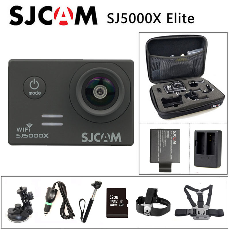Free shipping Original SJCAM SJ5000X Elite WiFi 4K 24fps 2K 30fps Gyro Sports Action Camera