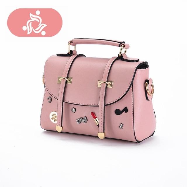 Cute Casual Luxury Famous Designer Bag Women Leather Crossbody Bag Shoulder  Bag Messenger Clutch Handbag Purses 1742be13f2