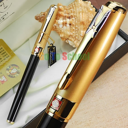 PICASSO 906 BLACK & GOLDEN DREAM FOUNTAIN PEN FINE NIB WITH ORIGINAL BOX italic nib art fountain pen arabic calligraphy black pen line width 1 1mm to 3 0mm
