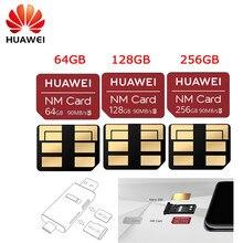 מקורי huawei USB 3.1 Gen 1 כרטיס קורא (ננו זיכרון) ננומטר כרטיס 90 M/S 64 GB/128 GB/256 GB רק להחיל כדי Mate20 פרו Mate20 X P30