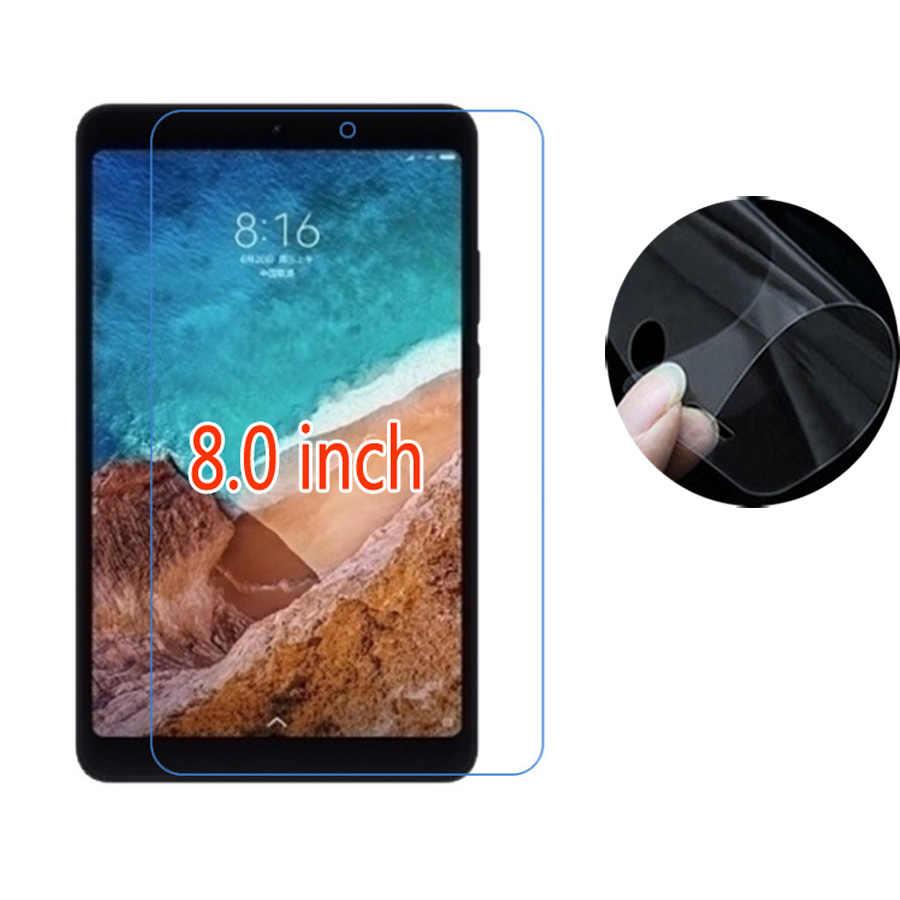Claro Macio Ultra Slim Tablet Protetores de Tela Para Xiao mi mi Pad 4/Xio mi mi pad 4 8.0 polegada Película Protetora