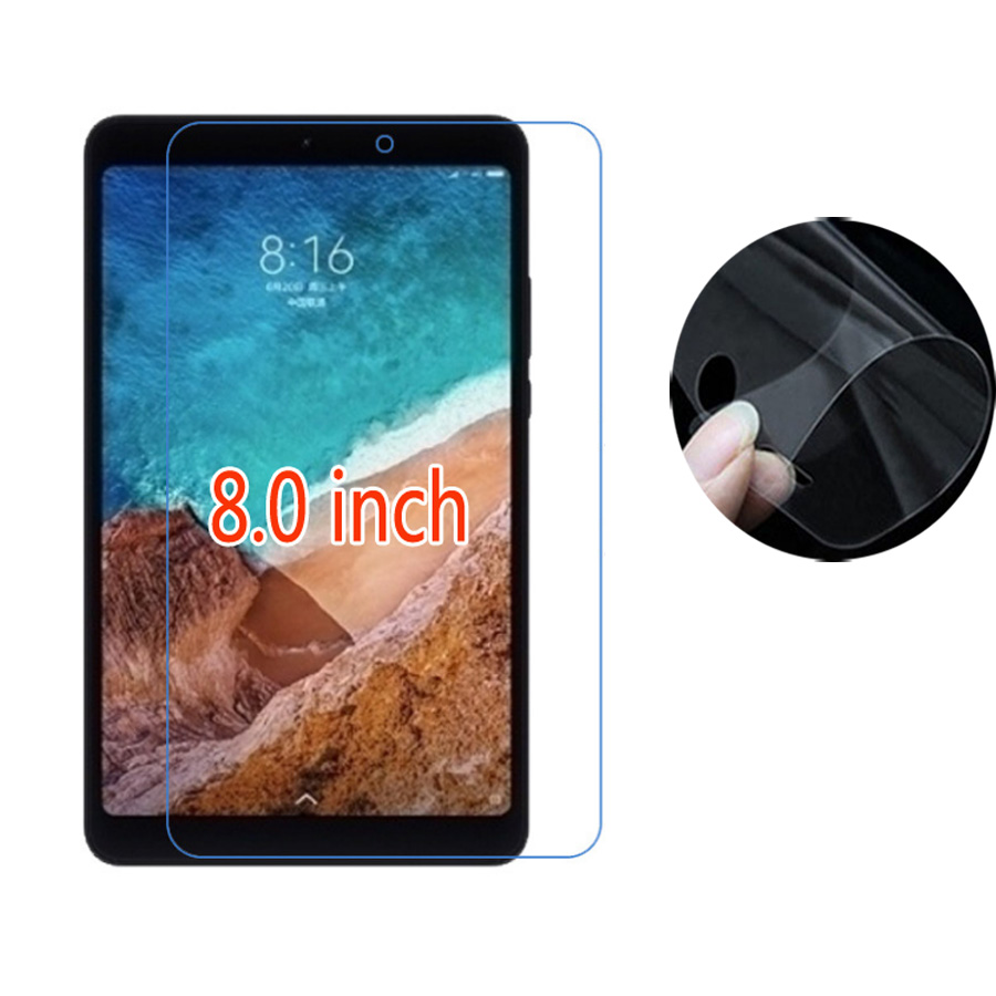 Tablet Accessories Xiomi Mipad 4 8.0inch Protective Film Clear Soft Ultra Slim Tablet Screen Protectors For Xiaomi Mi Pad 4