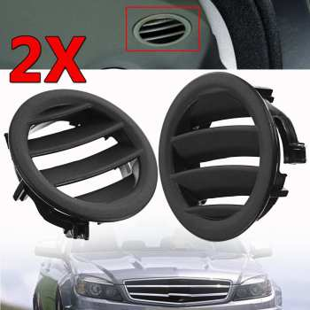 Left / Right Air Vent W204 Car Air Ac Vent Grille Cover Tabs For Mercedes W204 C300 C350 C630 C class 2008 2009 2010 2011 image