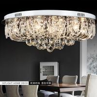 Romantic Crystal Ceiling Lamp Moon Star Modern Luxury Ceiling Light Dining Room Hanging Lights Kids Wedding