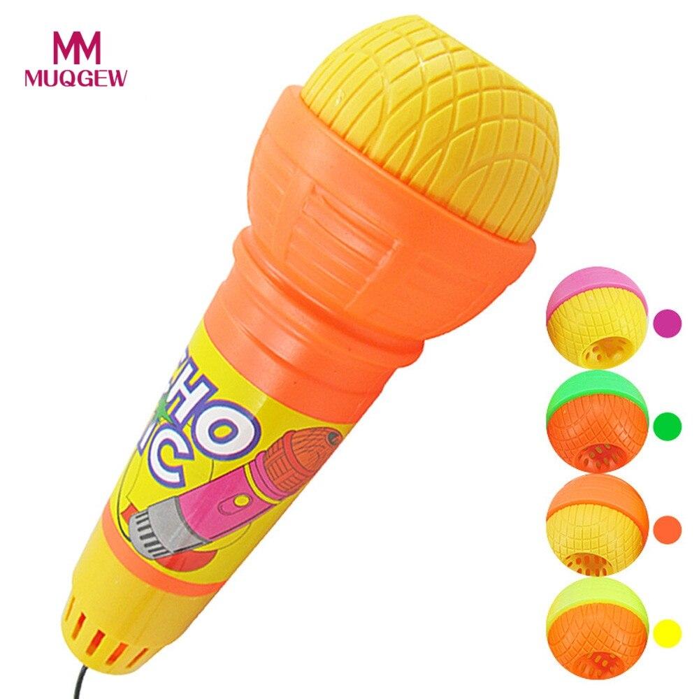 Разные цвета микрофон караоке Voice Changer Игрушечные лошадки подарок на день рождения детский праздничный костюм песня INSTRUMENTOS музыкальные веч...