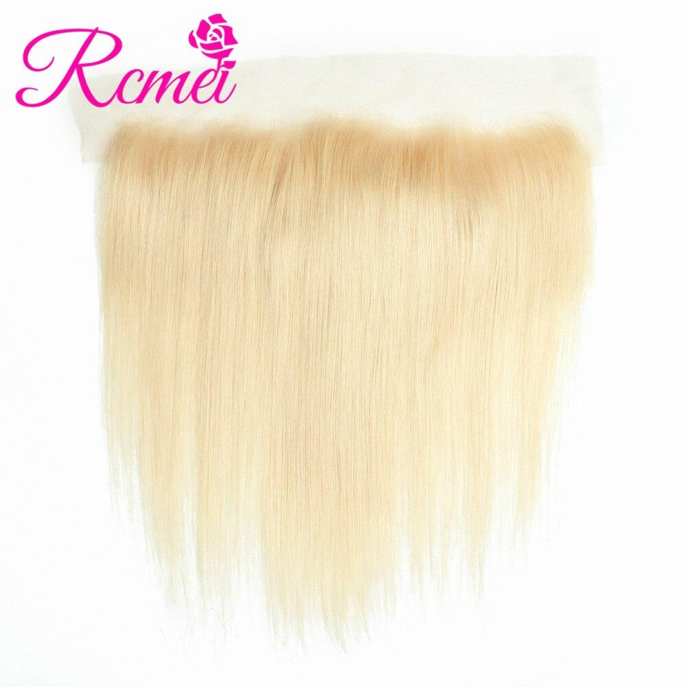 Rcmei 613 бразильские прямые волосы светлого цвета, кружевные спереди 13*4, верхние фронтальные волосы без повреждений, светлые кружевные фронтальные волосы с детскими волосами|Застежки|   | АлиЭкспресс