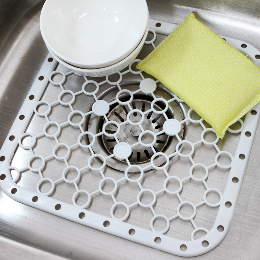 Multifunctional-Pad Draining-Board Hanging Kitchen Dish-Sink Vegetable-Fruits Heat-Insulation