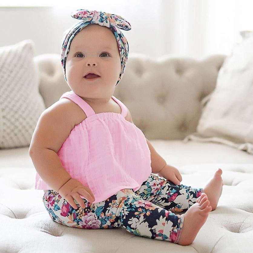 pink tops Newborn Baby Girl Solid Bandage Lace T-shirt Off Shoulder Tops Outfits girl clothes Photography Props Kids' things