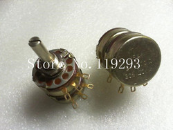 [BELLA] Echte Amerikaanse OHMSE///MP41 dubbele potentiometer 1000 ohm = 1K--5PCS/LOT