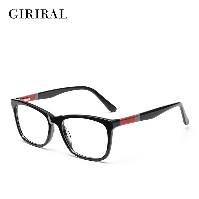 Accetate vrouwen Brilmontuur vintage designer optische merk bijziendheid clear Brillen frame # BC3467
