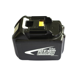BL1845 Electric Drill Battery 18V 4500mAh For MAKITA 194205-3 194309-1 BL1845 BL1830 BL1445 BL1460 18V 4.0Ah Li-ion Battery