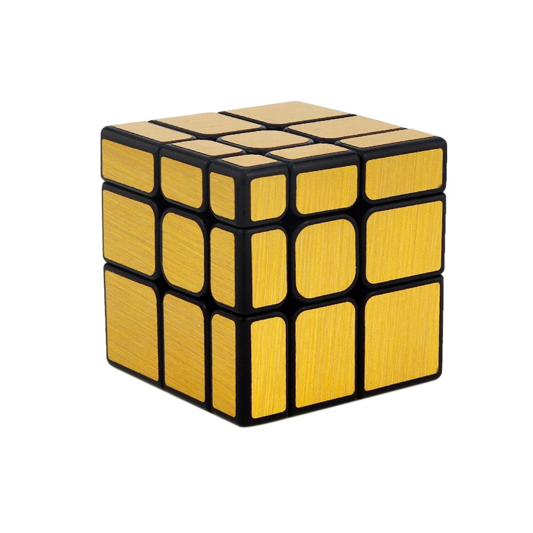 MoFang JiaoShi MF8811 3x3x3 Speed Mirror S Cubing Classroom Puzzle Magic Cube 57mm - Silver