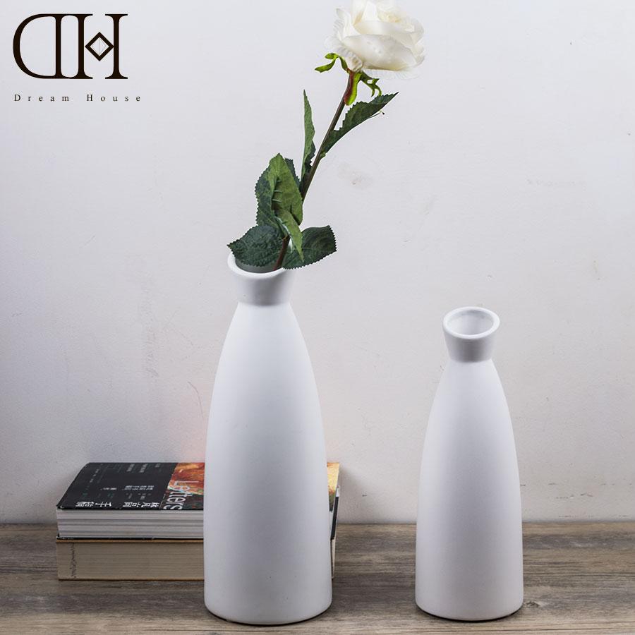 popular white ceramic flower vasebuy cheap white ceramic flower  - dh simple vase modern ceramic flower vase home decorative flower vase whiteflower bottle art crafts