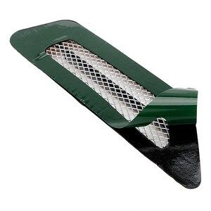 Image 2 - LEEPEE  1 Pair Side Mesh Cover Universal Shark Gills Auto Sticker Hood Bonnet Car False Air Outlet Decoration Stickers