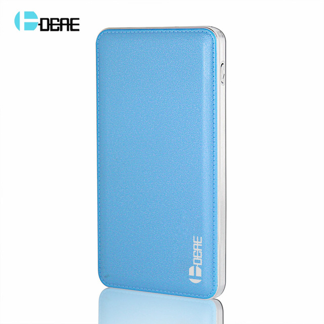 100% original dcae dual usb 12000 mah power bank externo portátil backup carregador de bateria para xiaomi iphone 6 5 huawei