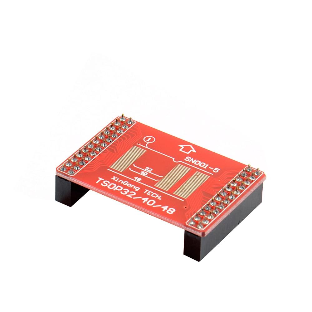 TL866 series Adapters TSOP32 TSOP40 TSOP48 SOP44 SOP56 adapter kit for MiniPro TL866 TL866A TL866CS Universal Programmer