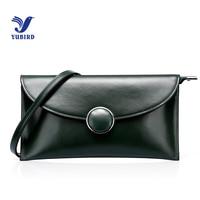 YUBIRD Fashion Womens Bags Envelope Day Clutch Mini Chain Bag Genuine Leather Shoulder Bags Female Purse