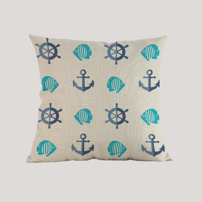 Океански вълни морски вълна - Домашен текстил - Снимка 4