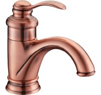 Cloud Power Vanity Rose Golden Basin Faucets With Copper Brass Bathroom Sink Mixer Taps With Gold