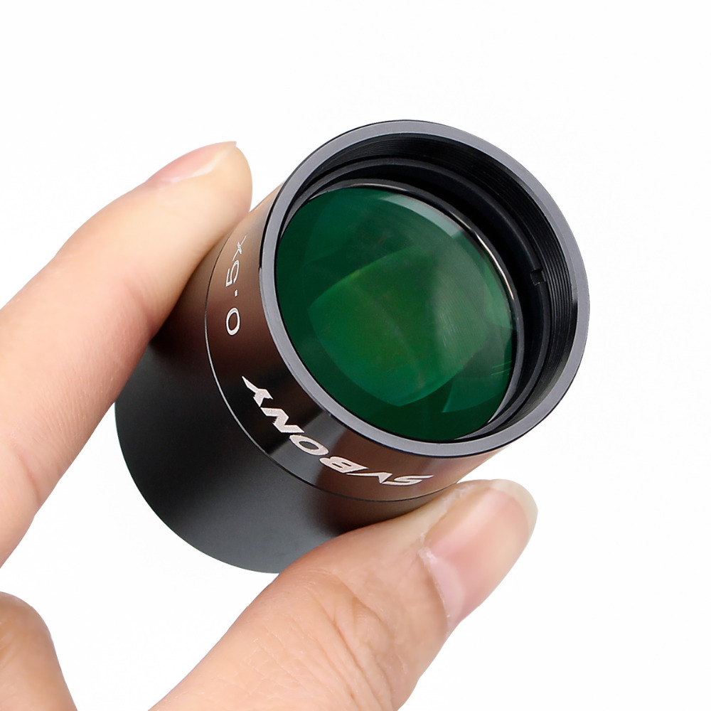 SvBony 0.5X Focal Reducer to Video Camera+Telescope 1.25
