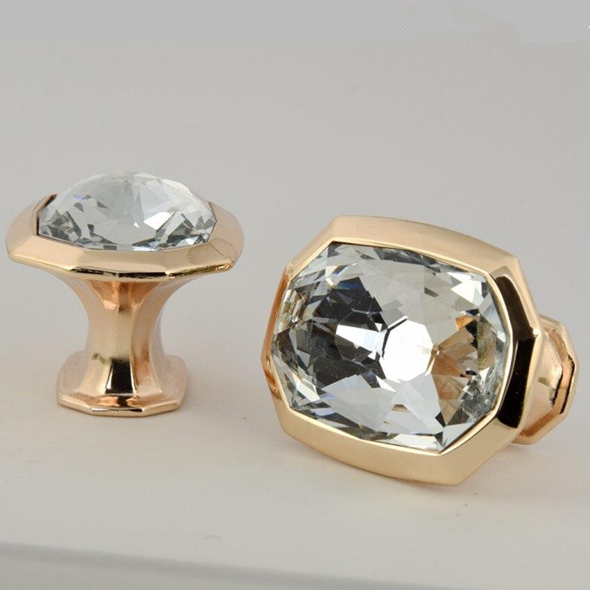 Niedrigsten Preis 12 Stücke Kristall Klaren Tür Schubladenschrank ...