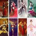 Фэйтянь дуньхуан Летающая Фея Hanfu Костюм Сексуальный Танец Носить Одежду древние Китайские сексуальный костюм hanfu фея одежда Экипировка