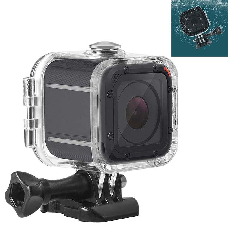 PULUZ Housing Case for GoPro Hero 5/4 Session Waterproof Diving Protective Shell 45m Go Pro Hero5 Hero4