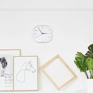 Image 5 - Neue Youpin Chingmi QM GZ001 Wanduhr Ultra ruhigen Ultra präzise Berühmte Designer Design Einfache Stil Für Freies Leben
