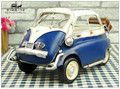 Antique classical Isetta car model retro vintage wrought metal crafts for home/pub/cafe decoration or birthday gift