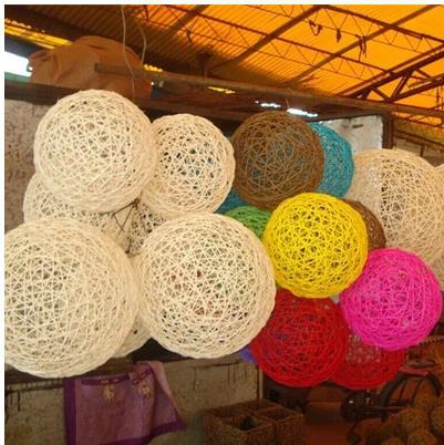 30cm colorful rattan ball diy home wedding store decor photography photo props accessories big sepak takraw ball round - Diy Home Decor Accessories
