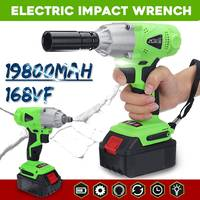 Doersupp 168VF Multifunctional Infinitely Variable Speed Electric Wrench Impact 19800mAh Rechargeable Li ion Battery Power Tools