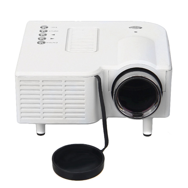Original EXCELVAN UC28 Portable Mini Hd LED Projector Cinema Theater Support PC Laptop VGA/ USB/ SD/ AV/ HDMI EU/ US/ UK Plug