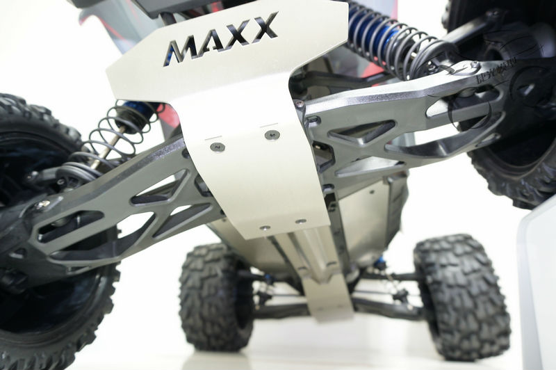 Traxxas X-MAXX шасси броневая защита авария защиты костюм нижняя