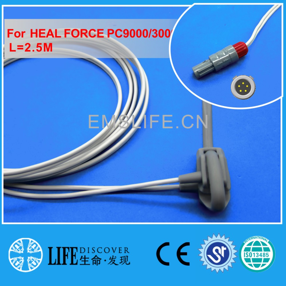 Long cable neonate wrap spo2 sensor for NIHON KOHDEN patient monitor