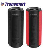 NEW Tronsmart Element T6 Plus 40W TWS SD TF Portable Bluetooth Speaker IPX6 Waterproof Outdoor Portable Mini Speaker For Phones