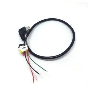 Image 3 - מקורי כבל AV עבור SJCAM M10 SJ4000 SJ5000 sj7000 sj9000 soocoo C30 EKEN h3 h8 h9 ספורט פעולה מצלמה FPV וידאו פלט כבל